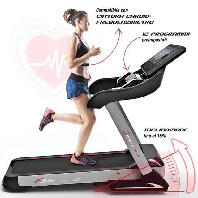 Sportstech F50 cintura cardiofrequenzimetro