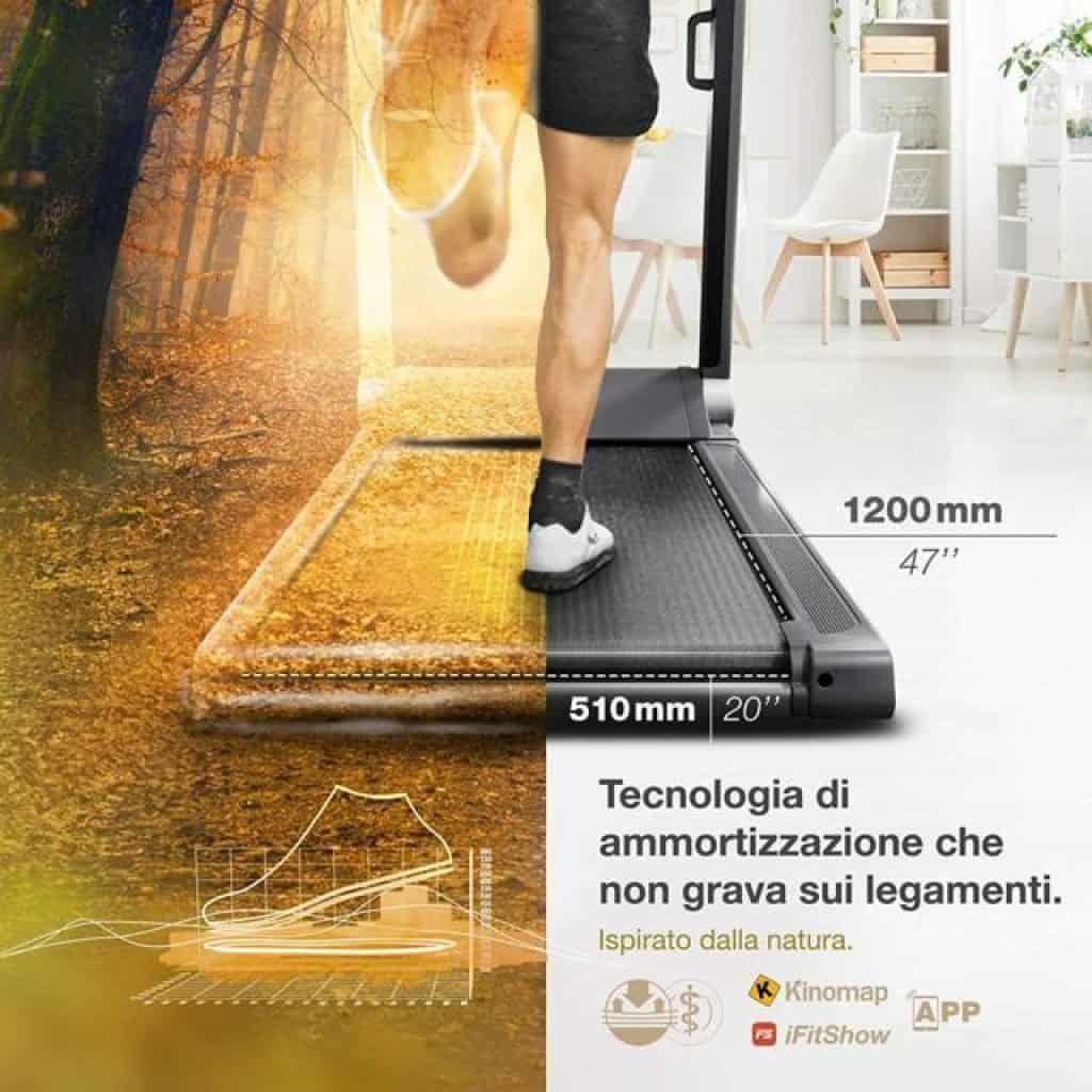 Sportstech-FX300-ammortizzazione-