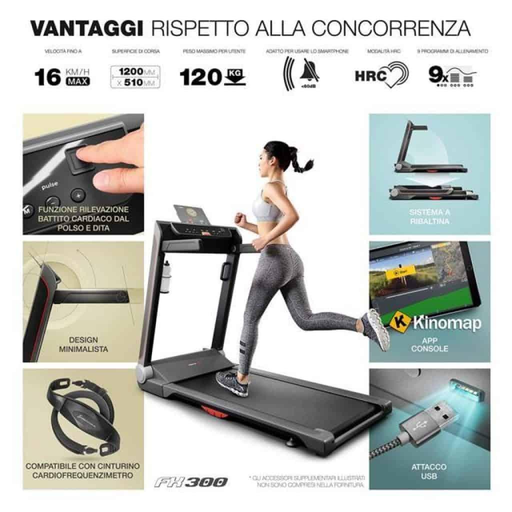 Sportstech-FX300-vantaggi-