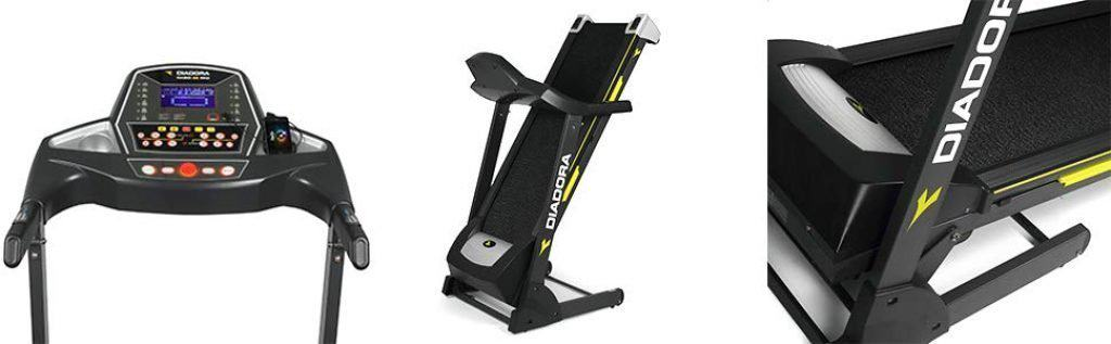 Diadora-Fitness-Tapis-roulant-Radio-45-PRO-display-lcd