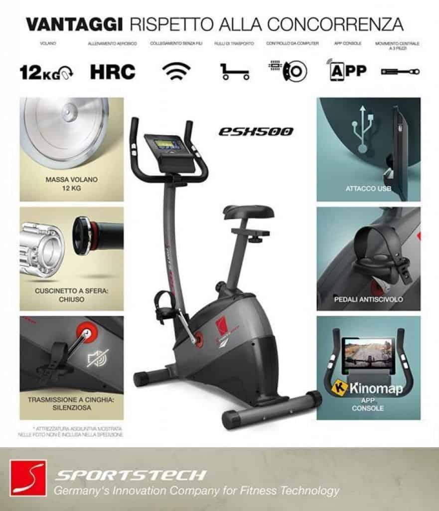Sportstech-ESX500-vantaggi-