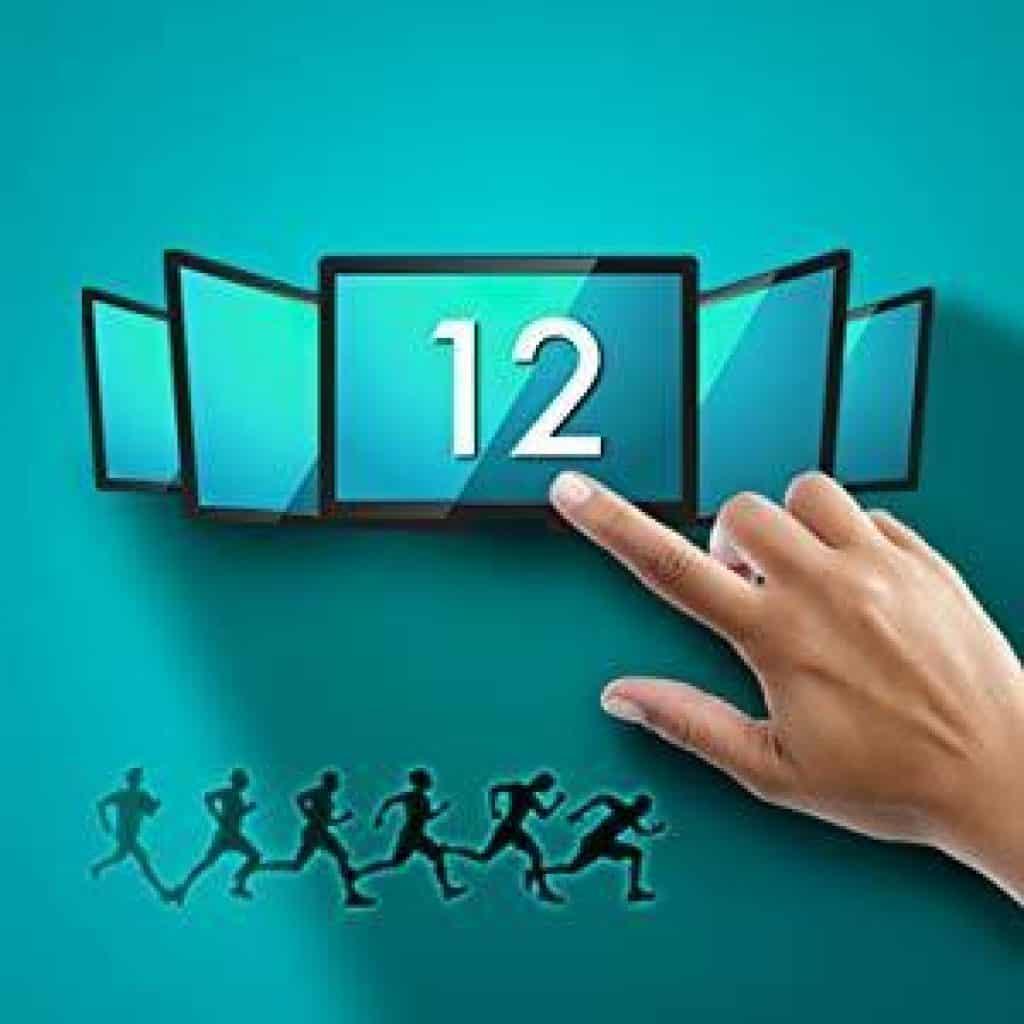 12 programmi di allenamento
