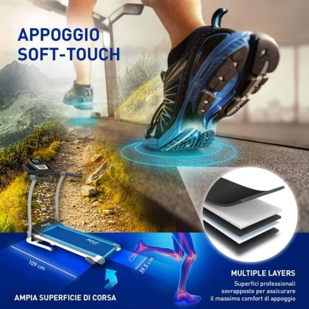 Sixtus tapis roulant soft touch
